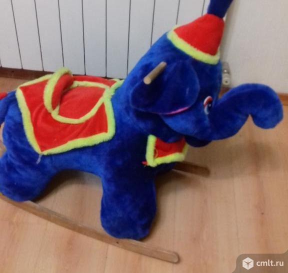 Слоник качалка. Фото 2.