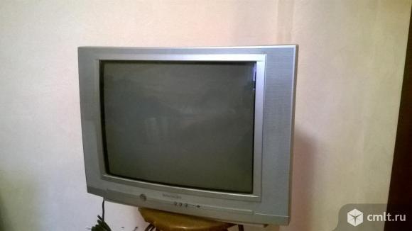 Телевизор кинескопный цв. Sitronics. Фото 1.