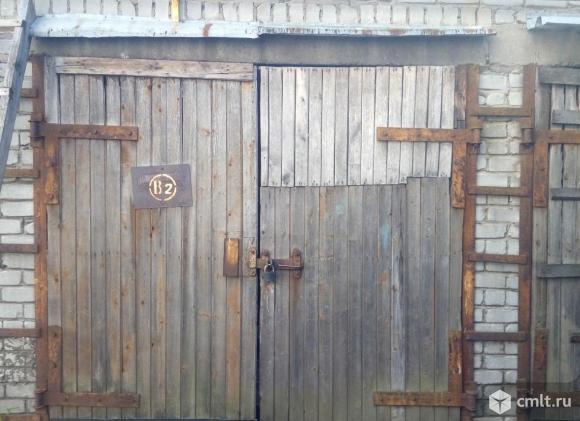 Капитальный гараж. Фото 1.