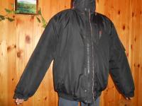 Теплая куртка с капюшоном размер 54-56, рост 180-200