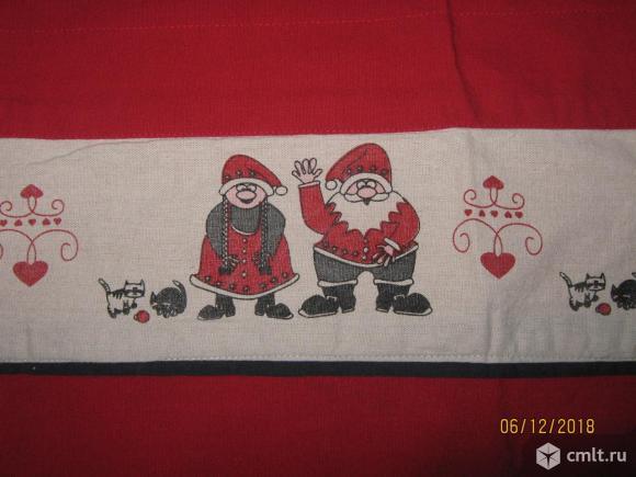 Рождественская шторка.. Фото 1.