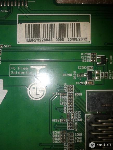 Майн EAX64307906,EBR75226848 LG42LM669T. Фото 2.