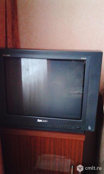Телевизор кинескопный цв. ролсен цв. кинескопный. Фото 1.