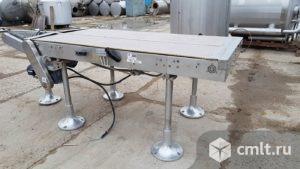 Накопительный стол — транспортер. Фото 1.
