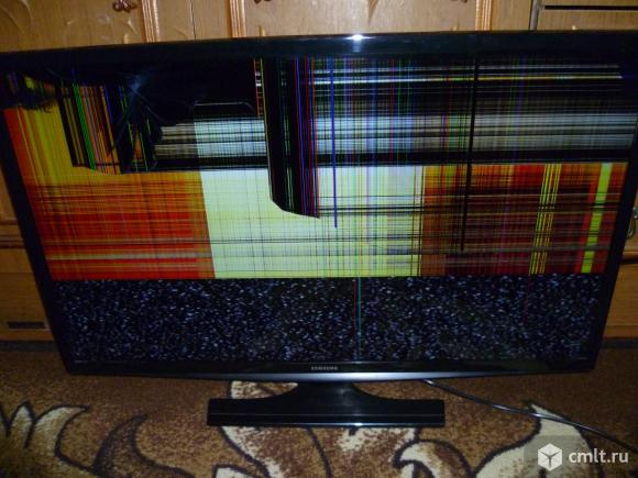 С разбитым экраном жидкокристаллический телевизор приобрету. Любой марки. Любой диагонали.Приеду сам. Фото 1.
