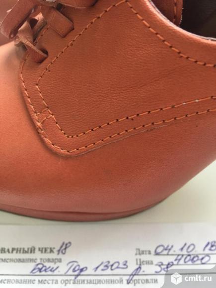 Продам шикарные кожаные туфли. Фото 3.