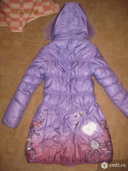 Куртка-пальто зимняя. Фото 4.