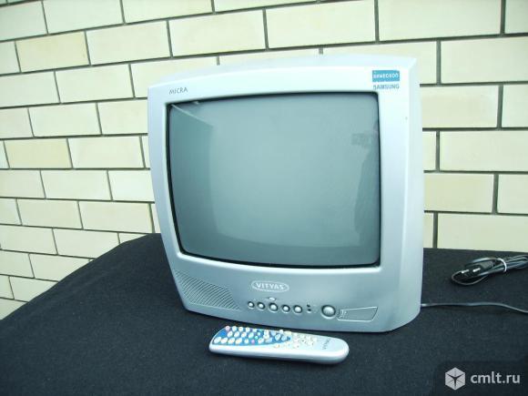 Телевизор кинескопный цв. Витязь. Фото 1.