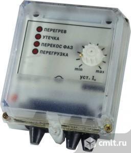 УЗОТЭ-2У прибор для защиты электродвигателя с контролем тока. Фото 1.