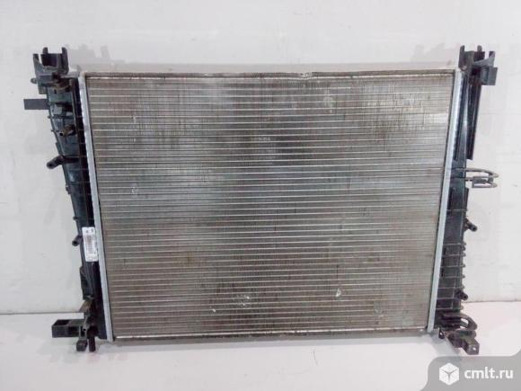 Радиатор охлаждения LADA XRAY / VESTA 15- / RENAULT LOGAN / SANDERO 14-/ RENAULT KAPTUR 16- б/у 2141. Фото 1.