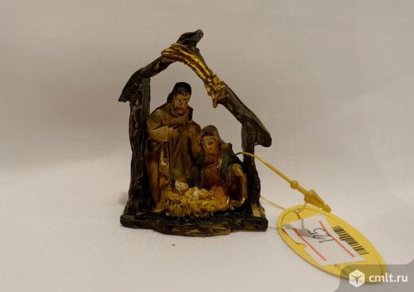 Рождественский мини-вертеп. Фото 1.