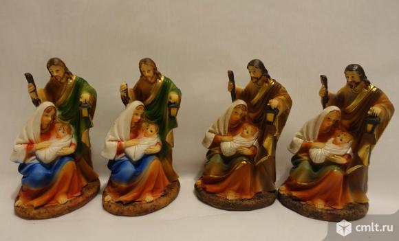 Фигурки с рождественским сюжетом