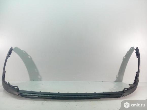Юбка спойлер бампера переднего KIA SPORTAGE 16- б/у 86512F1000 4*. Фото 1.