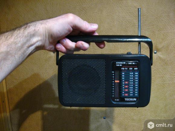Радиоприемник Tecsun R303. Фото 4.