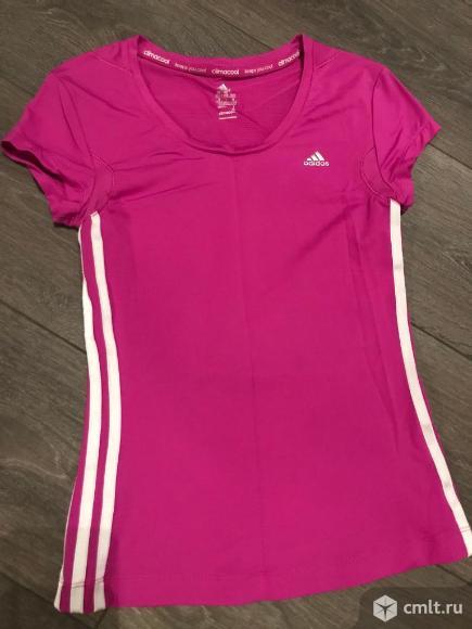Спортивная футболка Adidas размер S-M. Фото 2.