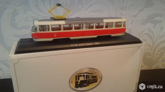 Трамвай Татра Т3 (1961 г). Фото 1.