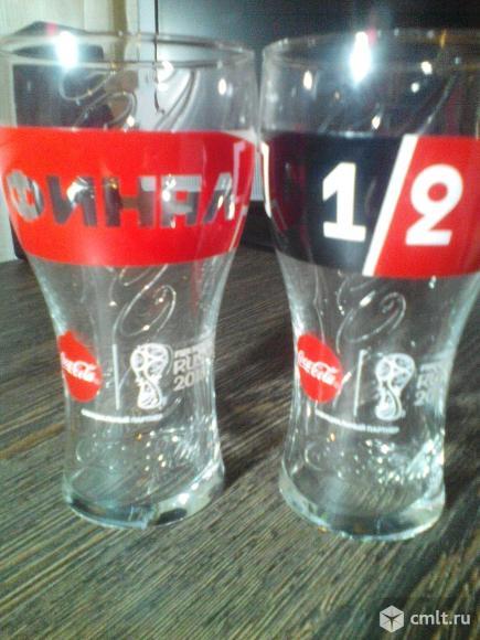 Продам бокалы Coca-Cola FIFA 2018. Фото 1.
