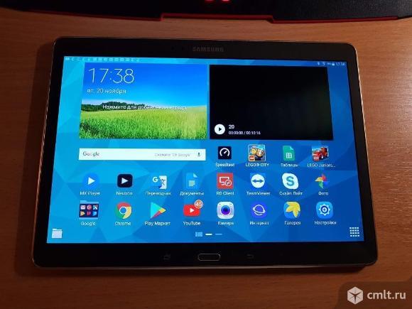 Планшет Samsung Galaxy Tab S. Фото 1.
