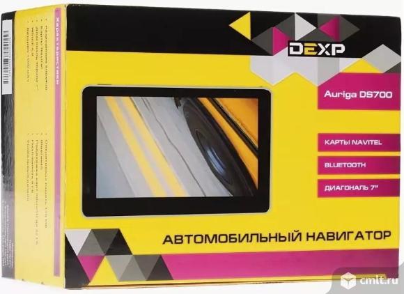 """Как новый, гарантия 7"""" GPS навигатор DEXP Auriga DS700 Navitel. Фото 1."""