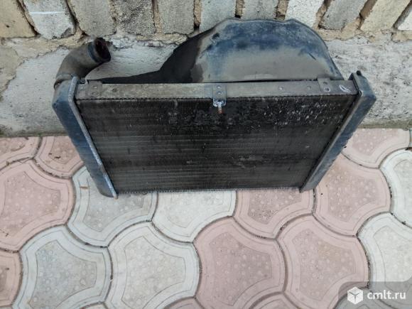 Радиатор газель. Фото 3.