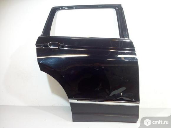 Дверь задняя правая + накладка VW TIGUAN 16- б/у 5NA833056H 5NA854950PRYP 2*. Фото 1.