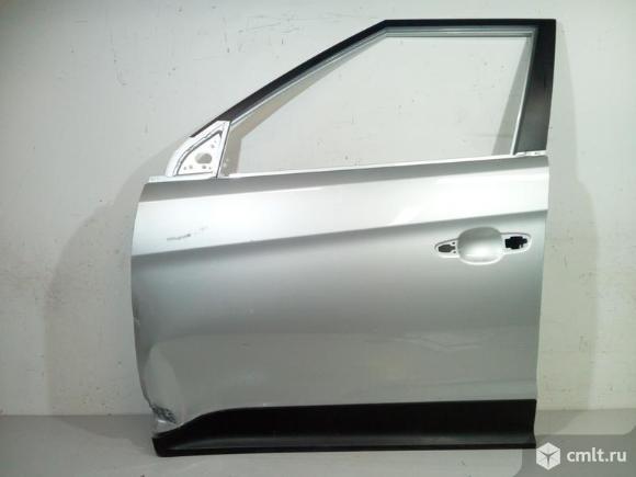 Дверь передняя левая + молдинг HYUNDAI CRETA 15- б/у 76003M0000 87721M0000 1*. Фото 1.