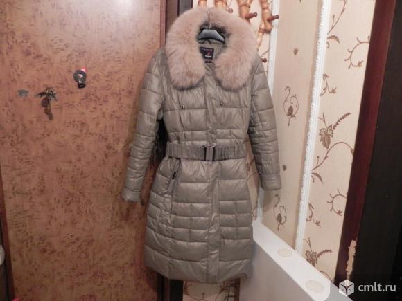 Пальто на двойном синтепоне