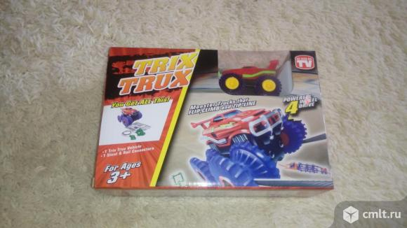 Машинки Trix Trux (Монстр-траки) новые
