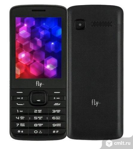 Как новый, гарантия 3-sim сотовый телефон Fly TS113. Фото 1.