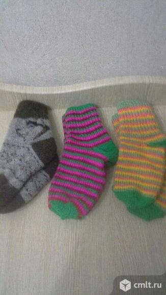 Носки шерстяные. Фото 2.