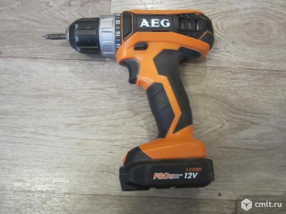 Шуруповёрт AEG BS12 G3 Оригинал, Германия