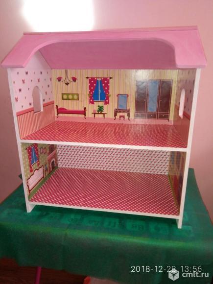 Кукольный дом новый. Фото 1.