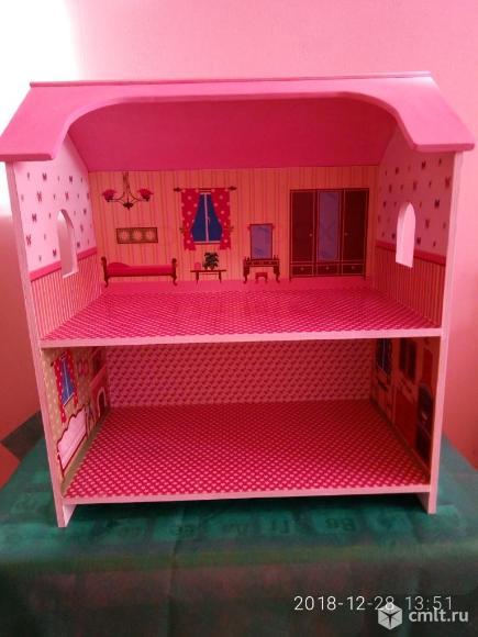 Кукольный дом новый. Фото 4.