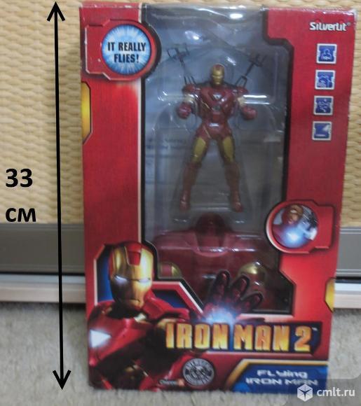 Продам Iron man 2. В упаковке, инструкция, запасные крылья. Летает, управление при помощи пульта.