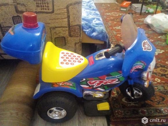 Детский мотоцикл. Фото 1.