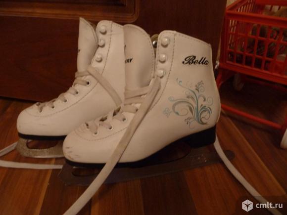 Детские фигурные коньки Nordway модель Bella. Фото 1.