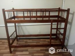 Кровать двухъярусная массив от 1,5 до 16 лет (до 170см)