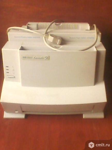 Принтер лазерный Hewlett packard