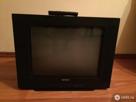 Телевизор кинескопный цв. Thomson. Фото 1.