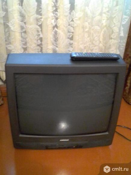 Телевизор кинескопный цв. Горизонт HORIZONT 54 CTV 657-I