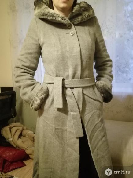 Драповое зимнее пальто (Надежда Дорохова)