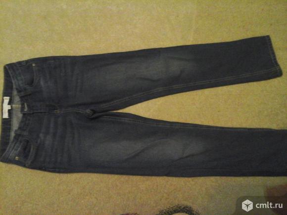 Брюки джинсовые на мальчика 11-12 лет. Фото 2.