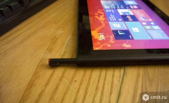 Планшетный компьютер на системе Windows 8 Lenovo ThinkPad Tablet 2 64Gb с разъёмом для сим-карты, пером рисования, полноценным USB-входом.Состояние идеальное.Коробка, зарядное устройство.