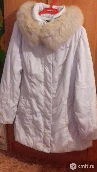 Женский зимний пуховик. Фото 1.