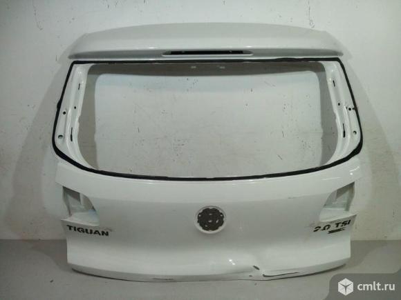 Крышка багажника VW TIGUAN 07-16 б/у 5N0827025G 3*. Фото 1.