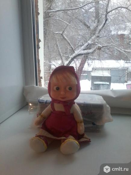 Мягкая говорящая кукла Маша
