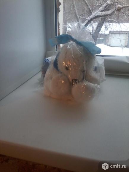 Рюкзак белый мишка