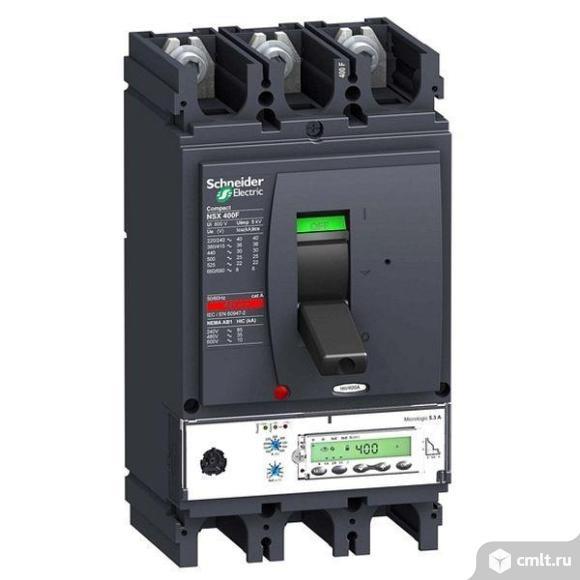 Силовой автомат Schneider Electric Compact NSX 400, Micrologic 5.3 A, 36кА, 3P, 400А. Фото 1.