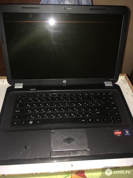 Ноутбук HP pavilion g6 нерабочий