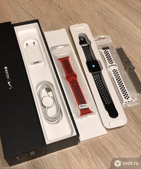 Apple Watch Nike + Series 2 Nike Sport Оригинал. Фото 1.